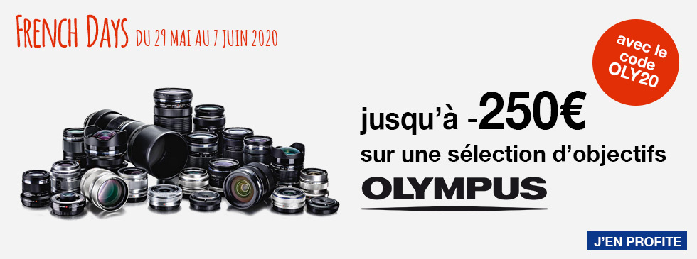 French Days : Olympus -250€