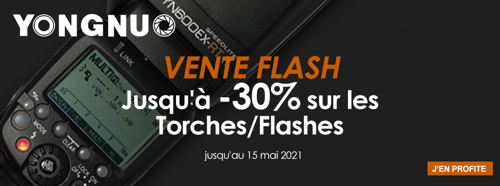 Yongnuo - Vente flash torches/flashes