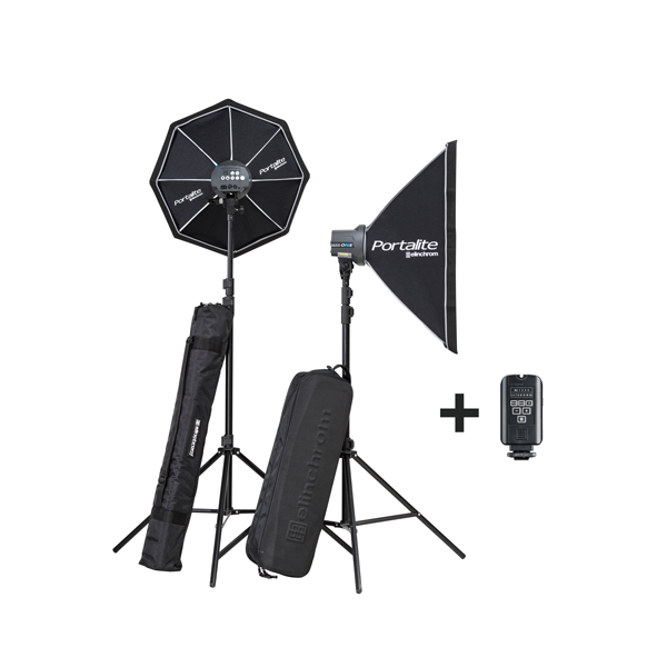 Kit de 2 flashes 100J D-Lite RX One - ELI20847