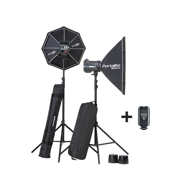 Kit de 2 flashes 500J BRX 500 - ELI20749
